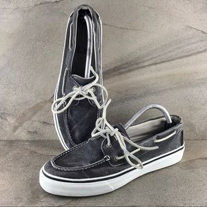 Sperry Top-Sider Distressed Canvas Deck Shoes